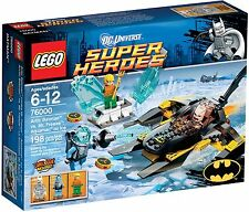LEGO Super Heroes 76000 Arctic Batman vs. Mr. Freeze Aquaman on Ice NEW Retired