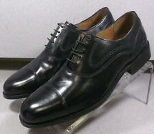 152411 SP50 Men's Shoes Size 9 M Black Leather Lace Up Johnston & Murphy