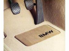 4 BMW OEM Beige Floor Mats E90 323 325 328 330 335 3521