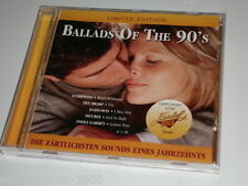 BALLADS OF THE 90 ´S LIMITED EDITION CD SCORPIONS TEN SHARP HADDAWAY FAITH NO MO
