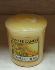 Yankee Candle Flowers in the Sun Votive New !