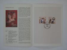 (03j46) Bund Erinnerungsblatt 2003 mit ESST Mi.Nr. 2369-2370 Weihnachten