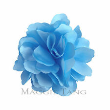 "Magic Castl 3"" Rose Flower Hat Hair Clip Brooch Pin Wedding Party Corsage R-hua2"