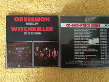 Marshall Law, ossessione/Day of the Saxon, Witchkiller (SPV, 1984) Limousine erstaufl, RAR!!!