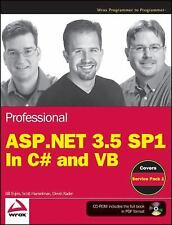 Professional ASP.NET 3.5 SP1 Edition: In C# and VB (Wrox Programmer to-ExLibrary