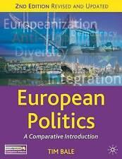 European Politics: A Comparative Introduction (Comparative Government and Politi