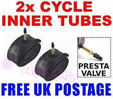 2x PRESTA Inner Tubes 700c 700 25/28C Touring Road Bike