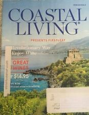 Coastal Living 7/8 '16 Presents Firstleaf, Simple Joys Of Summer, Seashells ETC