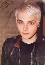 Gerard Way (Young) MY CHEMICAL ROMANCE RARE EARLY CANDID Signed RP 8x10