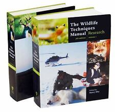 The Wildlife Techniques Manual : Research; Management 2-vol. set