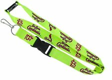 "St. Louis Cardinals MLB Breakaway Lanyard Key Chain Ring 36"" Long NEON"