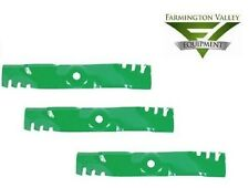 John Deere LX186 LX188 48C Mower Predator Mulch Blades Set of 3 M115495 PD1024