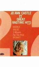 22 Great Ragtime Hits by Jo Ann Castle Audio Cassette Tape 1978 Teleklew