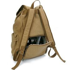 Anti-Theft DSLR SLR Camera Laptop Backpack Rucksack Canvas Bag FOR Canon Sony