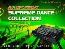 Supreme Dance Collection - Akai MPC 1000, 4000, 2500, 2000XL + .WAV - CD