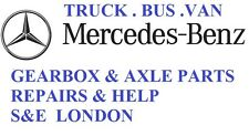 MERCEDES gearbox & diff ACTROS ATEGO SPRINTER VARIO  repairs & parts london