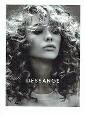 PUBLICITE ADVERTISING 126  2015  Salon de coiffure Jacques Dessange