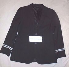 Vintage United Airlines Stewardess Uniform Jacket Coat size 8
