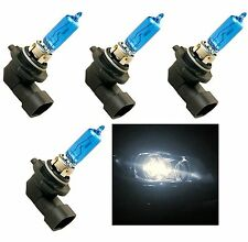 HALOGEN 9012 HIR2 55W 5000K FOUR BULB HEAD LIGHT REPLACEMENT STOCK PLUG PLAY JDM