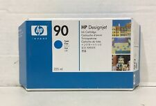 Genuine HP 90 Cyan Ink Cartridge C5060A Genuine New Sealed 2014