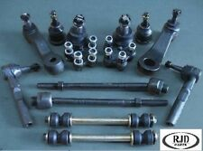 Front end kit Tie rod end Ball Joint Pitman Idler link Standard Suspension vehic