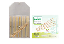Knitters Pride Bamboo 6 inch (15 cm) Double Pointed Needle Set