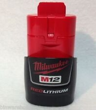 New Milwaukee 48-11-2401 M12 Red Lithium 12-Volt Lithium-Ion Battery 12V