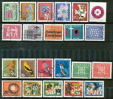 Bundespost jaargang 1963 gebruikt