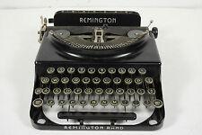 Antique Remington Rand Ultra Portable Lightweight Black Manual Typewriter