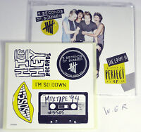 5 Seconds Of Summer - She Looks Perfect - NEW CD Single + Sticker Set SEALED !!