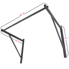 New Wall Mounted Heavy Duty Chin Pull Up Bar Gym Workout Fitness Pro Mount