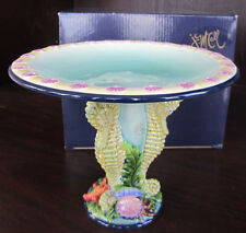 Icing On The Cake SEA STAR & SCALLOPS PEDESTAL J.M. McCall NEW In BOX bjf3011927