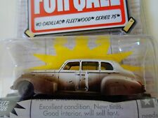 "JADA DIECAST ""FOR SALE"" - 1940'S CADILLAC FLEETWOOD SERIES 75 - 1:64- NIP"