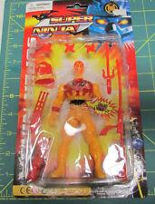 Unopened Super Ninja LIghts up with accessories  - helmet, sword, knife and more