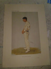 VANITY FAIR PRINT CRICKET 46 CENTURIES TYLDESLEY