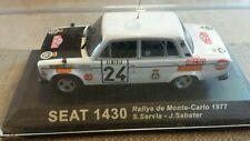 Diecast Rally Auto Coleccion Deagostini Seat 1430