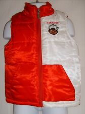 Trukfit by Lil Wayne Size 24 Months Red & White Outerwear Vest