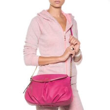 NEW Juicy Couture Greta Cashmere Rose Pink Flap Crossbody Bag Purse $79 NWT