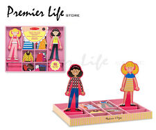 Melissa & Doug - Magnetic Dress-Up Dolls