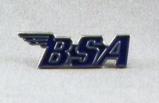 Metal Enamel Pin Badge Brooch BSA Logo Bike Motorbike Blue