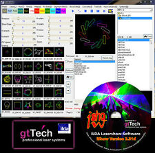 IShow 2.31d Ilda Lasershow Software USB ILDA Interface 700W Antari Nebelmaschine