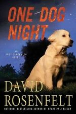 David Rosenfelt~ONE DOG NIGHT~SIGNED~1ST/DJ~NICE COPY