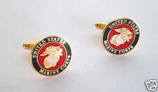 UNITED STATES MARINE CORPS CUFF LINKS Military Veteran 14771-C HO