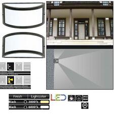 Applique LED Plafoniera Faro Parete Esterno Illuminazione luce Giardino 9W E27