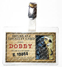 Harry Potter Dobby The House Elf ID Badge Cosplay Prop Costume Comic Con