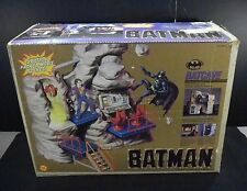 vtg 1989 Toy Biz Batman BATCAVE Playset w/ Box DC Comics