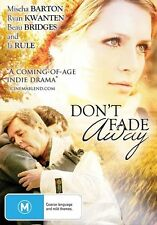 Don't Fade Away (DVD, 2011)*R4*Excellent Condition*Mischa Barton*Ja Rule