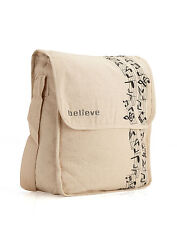 Believe Canvas Sling Bag