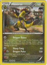 Pokemon TCG XY BREAKTHROUGH : HAXORUS 111/162 RARE HOLO X 4