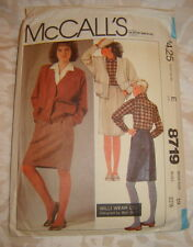 McCalls Pattern by Willi Smith 8719